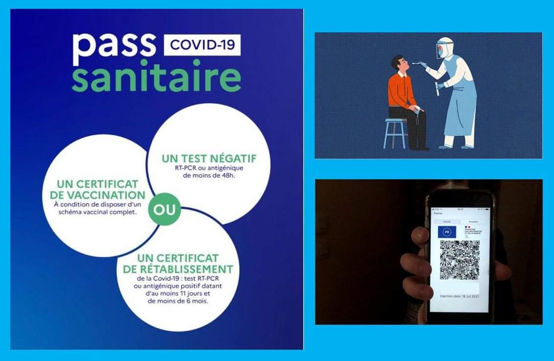 Pass Sanitaire, règles applicables depuis le       1er Octobre 2021